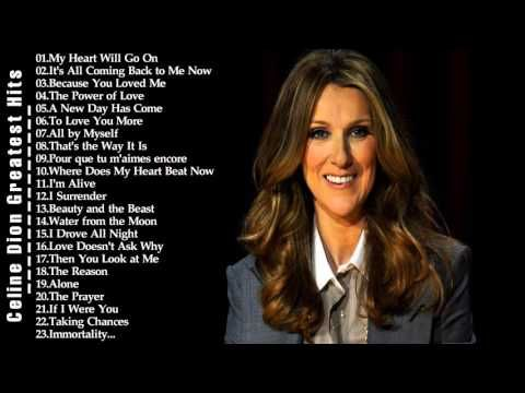 The Very Best Of Celine Dion | Celine Dion Greatest Hits 2016 - YouTube