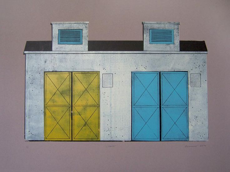 Gates - lonocut, 2014, Barbora Hermanova