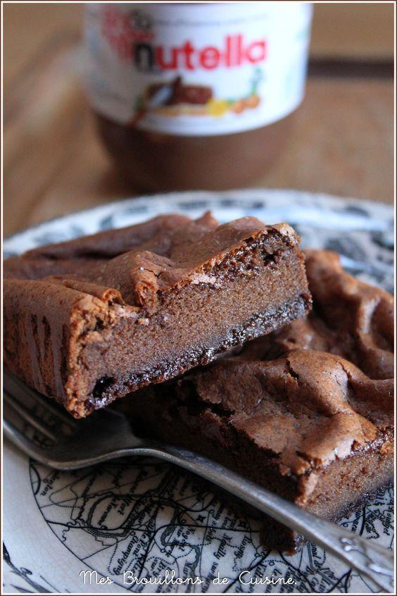 2 ingr dients 1 g teau au nutella gateaux pinterest nutella and cake - Gateau au nutella fondant ...