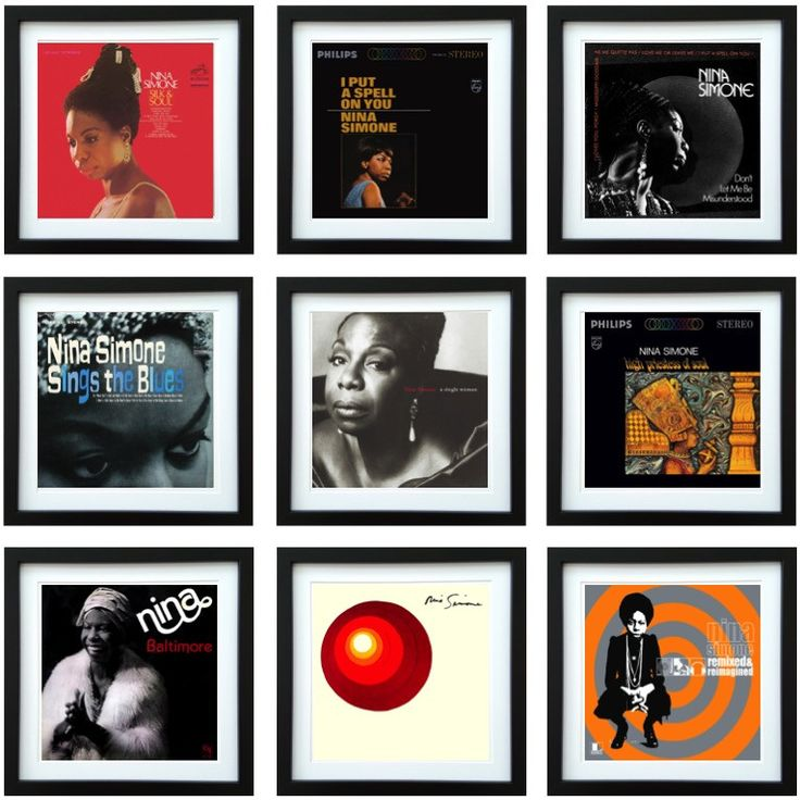 Nina Simone | Framed Album Art Collector Series | ArtRockStore