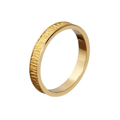 LAPP GOLD RING 3.2mm 14K /  Handmade in Helsinki / Lapponia Jewelry / Design: Björn Weckström