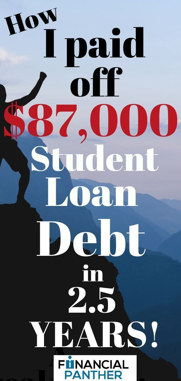 A Breakdown Of How I Paid Off $87,000 Worth Of Student Loans In 2.5 Years