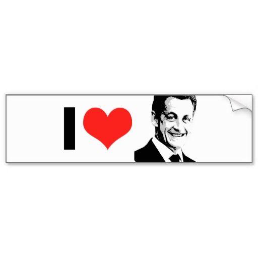 Nicolas Sarkozy Bumper Sticker
