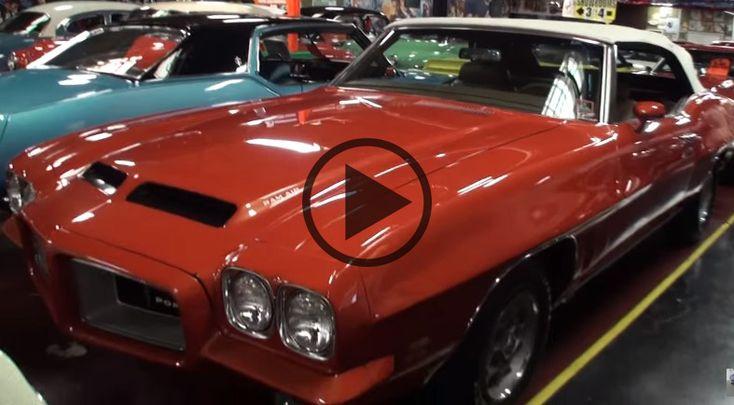 Pontiac LeMans 1972 Sport Convertible - https://www.musclecarfan.com/pontiac-lemans-1972-sport-convertible/