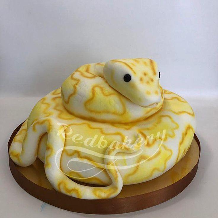 торт в виде змеи фото построить