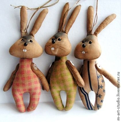 Flavored handmade dolls. Fair Masters - handmade Bunnies and Seals. Fragrant coffee toys .                              . Handmade.
