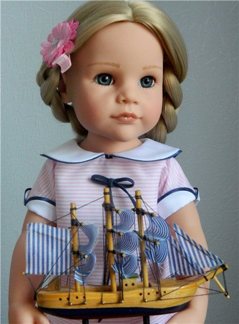 Hairstyles for Gotz / Dolls Gotz - collectible and play Gotz / Beybiki. Dolls photo. Doll clothes