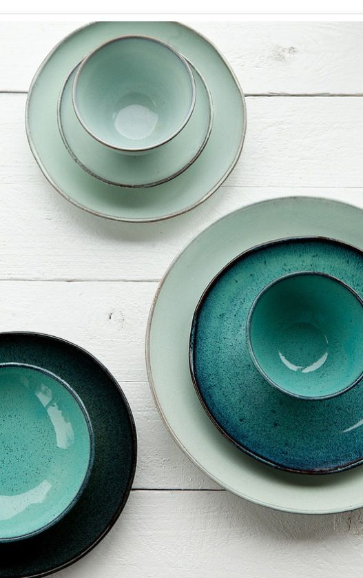 TREND - PETROL Pascale Naessens Aqua collection. Simply beautiful!