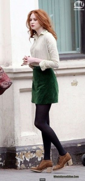 Karen Gillan. I just love her style so much!
