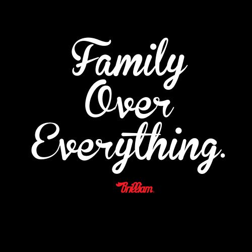 Family is the glue that holds us together when we are falling apart!