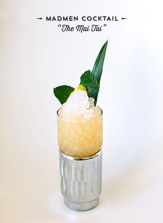 Mad Men cocktail idea: Mai Tai