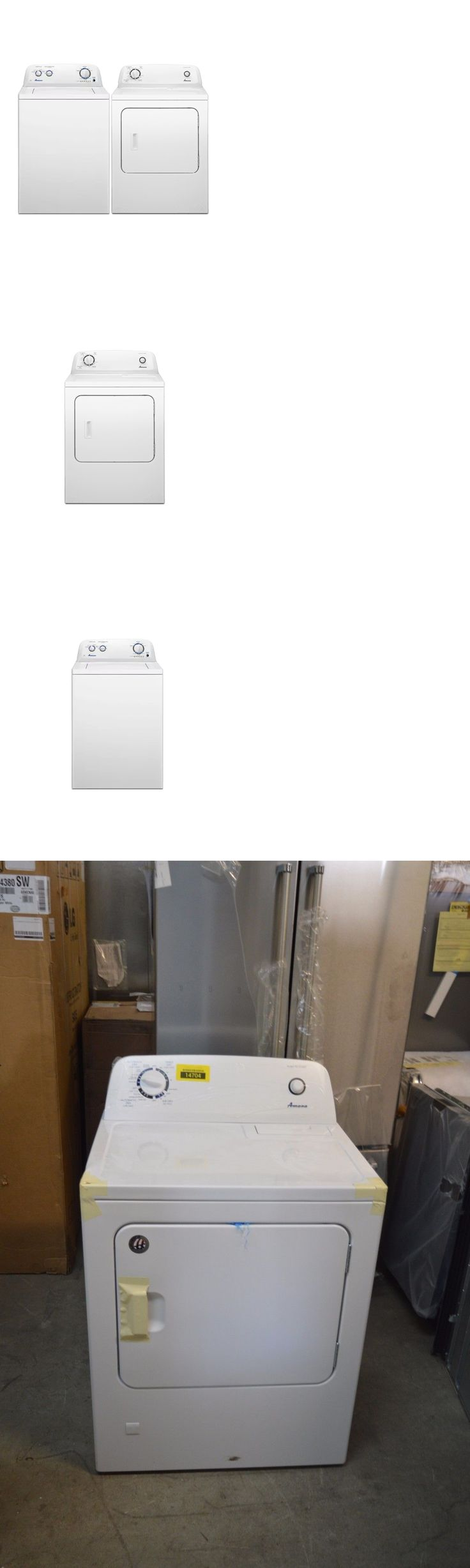 Washer and Dryer Sets 71257: Amana Ntw4516fw Ngd4655ew 29 White Front-Load Gas Dryer Top Load Washer Al2 -> BUY IT NOW ONLY: $529 on eBay!