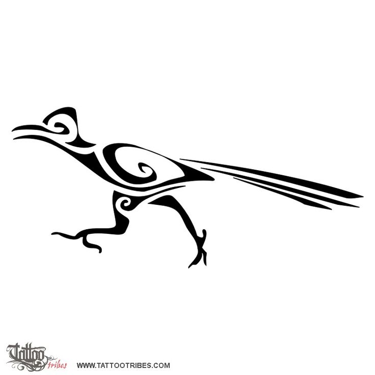 TATTOO TRIBES - Shape your dreams, Tattoos with meaning - roadrunner, speed, agility, runner