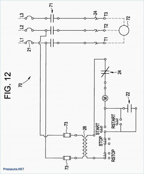Magnetic Starter Wiring Diagram Auto Transformer Electrical Wiring Diagram Electrical Diagram