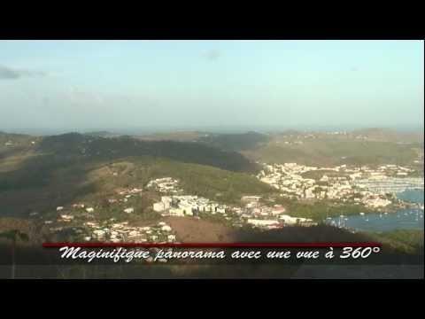Panorama depuis le Morne Gommier en Martinique  #Martinique