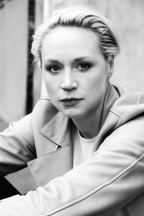 Makeup can be used to enhance appearance, it's true, but can we talk about how pretty Gwendoline Christie is out of character?