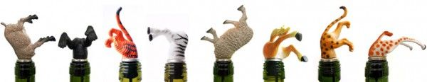 A variation to the ladies legs sticking out of the wine bottle! I think I will try to make these!