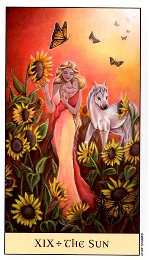 Free Daily Tarotscope -- Dec 21, 2015 -- The Sun  -- Today you want to focus on what's right in your world rather than what might be wrong. The Sun card is all about happiness, optimism and vitality: it's about being present in the moment and celebrating being alive. (more)...