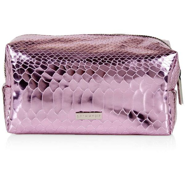TOPSHOP **Marni Make-Up Bag by Skinnydip ($17) ❤ liked on Polyvore featuring beauty products, beauty accessories, bags & cases, pink, makeup purse, topshop, dopp bag, wash bag and travel dopp kit