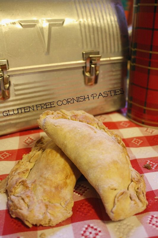 Cornish Pasty Gluten free, sub out butter and rice flour.  Recipe 2.