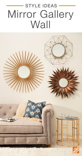 Wall Decor Using Mirrors : Home decor a collection of ideas to try about