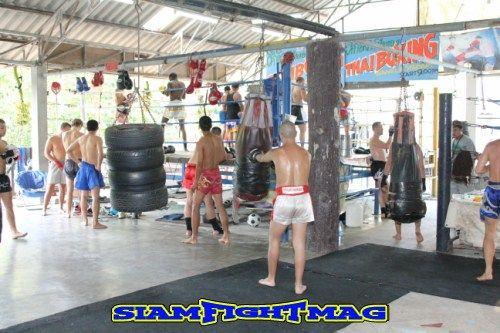 singpatong boxing club Phuket Thailand