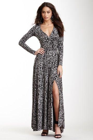 Long Wrap Dress on HauteLook