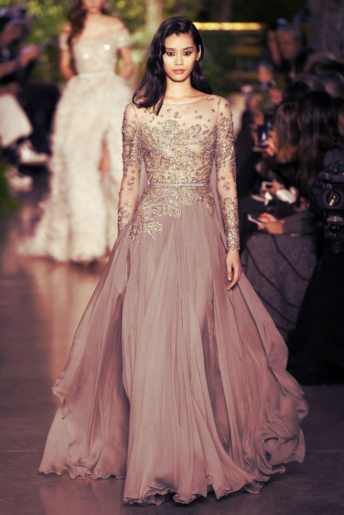 Haute Couture Fashion | Elie Saab Haute Couture | Spring Summer 2015