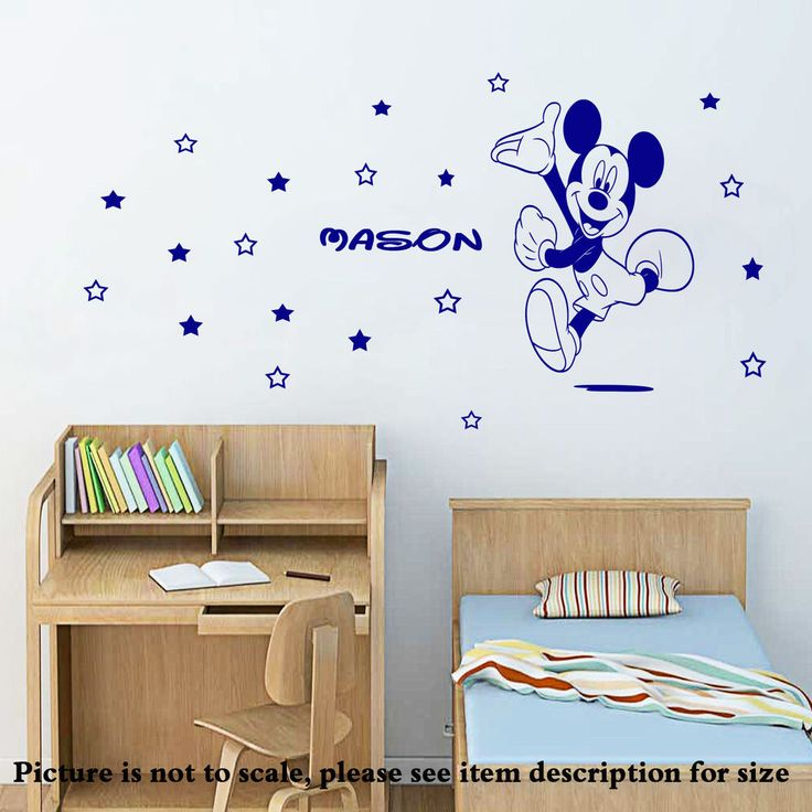 Best Wallart Stickers Decal Stencil Mural For Wall Images On - Custom vinyl wall decals disney