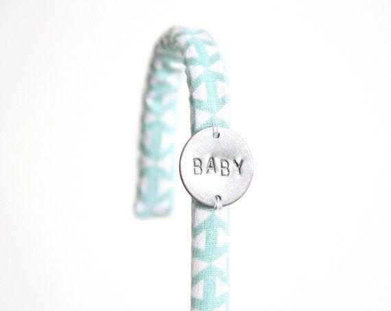 Crochet tissu triangle bleu chambre pyjama / HelloPetronille