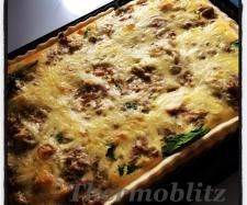 Recipe Bacon Leek and Mushroom Quiche by Thermoblitz - Recipe of category Baking - savoury