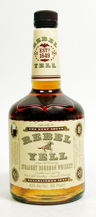 Double Gold Medal, Rebel Yell Kentucky Straight Bourbon Whiskey, Kentucky, USA