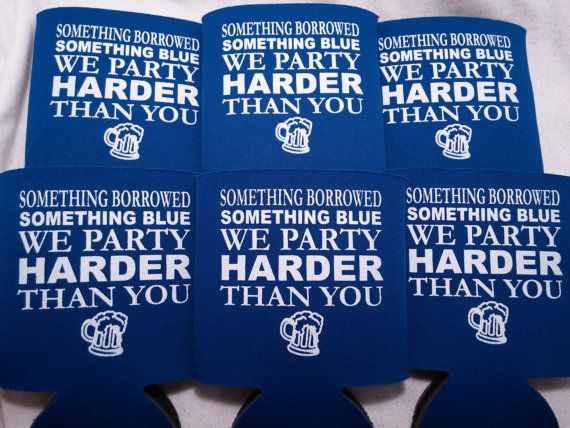 Bachelor Party Koozies design b10082014 by odysseycustomdesigns ...