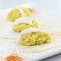 Receta para preparar Puré de papa criolla con queso. con instrucciones e ingredientes de Rafaela Valdez en Cocina33