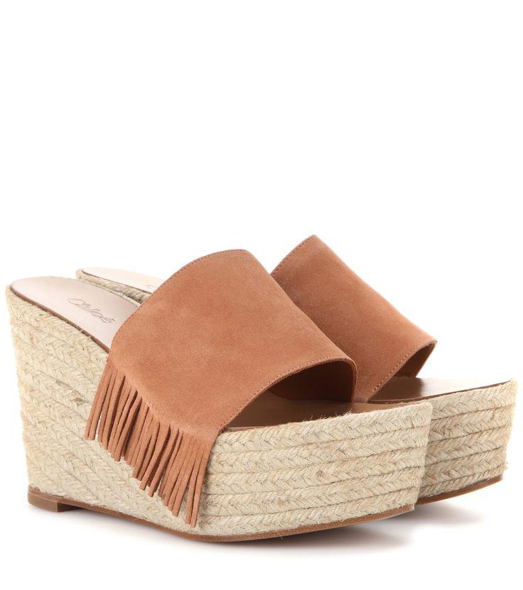 awesome Wedge-sandalen Aus Veloursleder http://portal-deluxe.com/produkt/wedge-sandalen-aus-veloursleder-2/  315.00