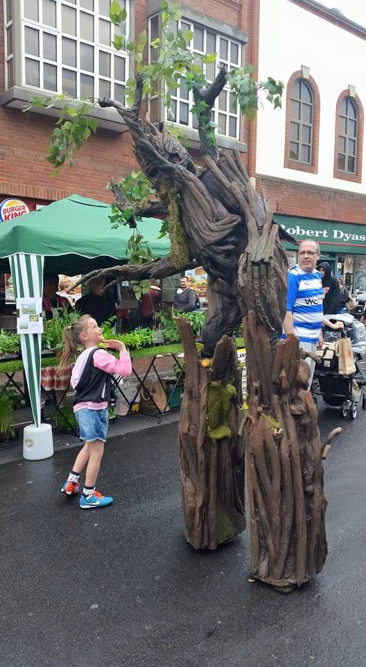 These incredible Treant characters bring magic and wonder to any event. Towering over you, these amazing giant tree creatures never fail to create wonder and gasps of awe where ever they go.  These incredibly detailed stilt costumes are the perfect addition to any event, especially those themed around nature, magic and fairy tales.