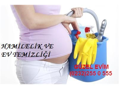 Hamilelik ve ev temizliği