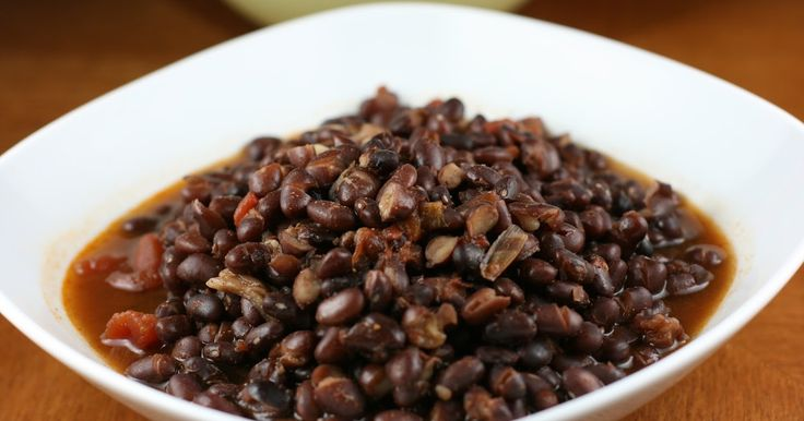 how to make homemade mexican black beans that taste good in the crockpot slow cooker