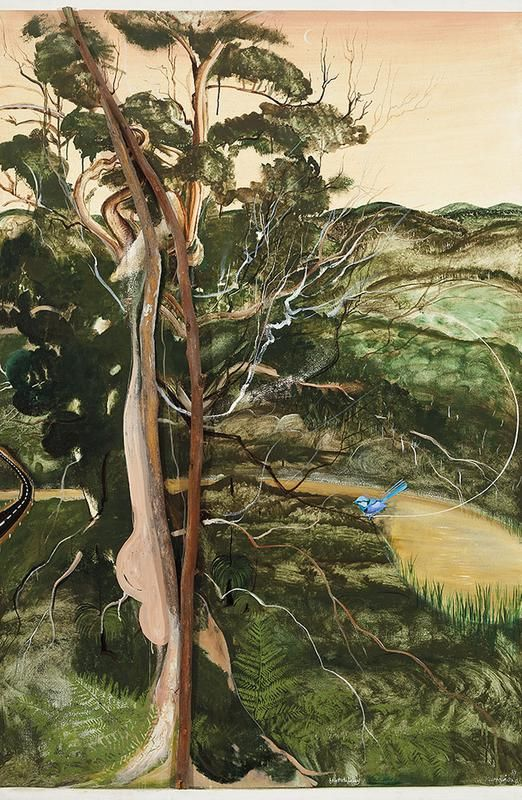 BRETT WHITELEY  Kurrajong (1981)