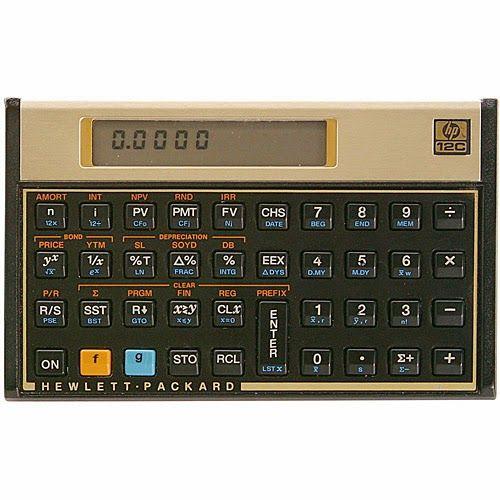 Calculadora Financeira HP12C - HP, por R$ 224,91