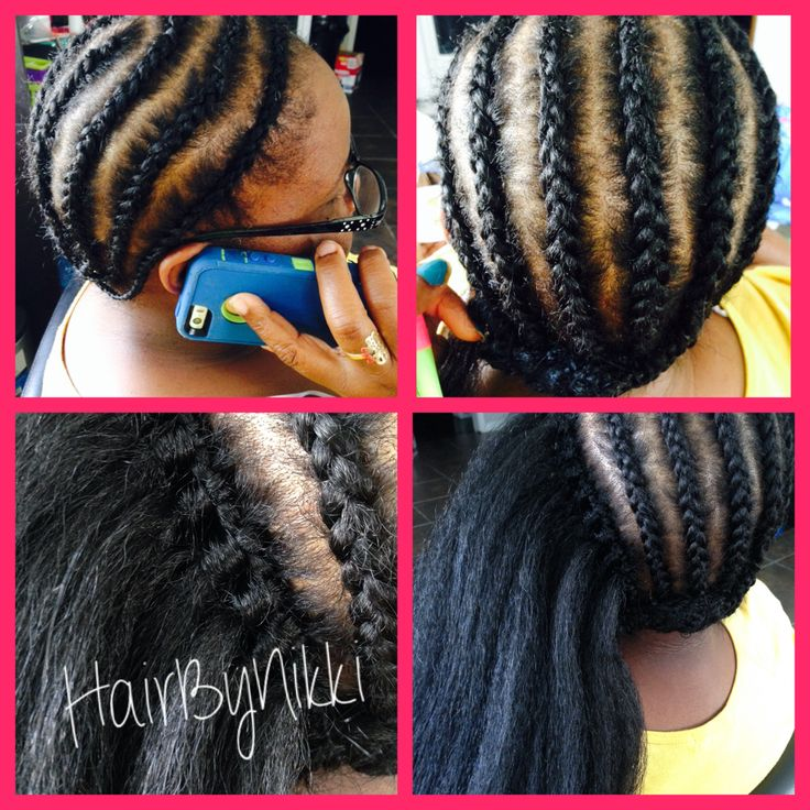 Crochet Braids With Xpressions Kanekalon Hair : Crochet Braids with 100%Kanekalon Hair Naturally Beautiful ...