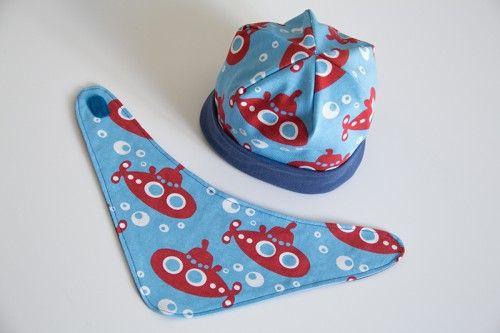 Mütze Halstuch Freebook