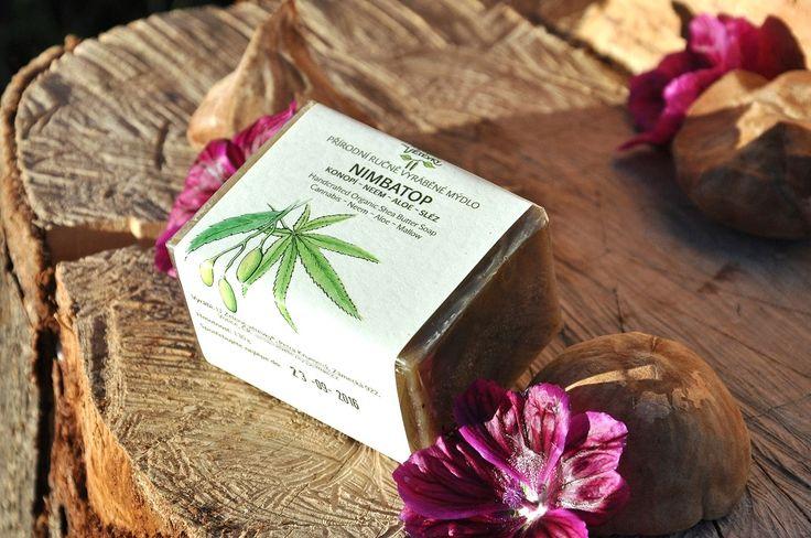 NimbAtop soap with neem, canabis, malva and aloe vera