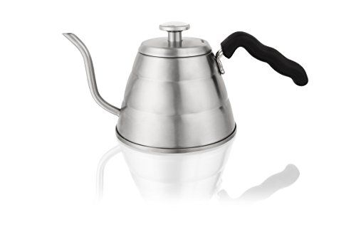 Traditional PREMIUM INTEGRATED THERMOMETER Pour Over Kettle - 30oz Stainless Steel Gooseneck Kettle for Hand Drip Coffee - Designed To Elevate Your Coffee Experience, ,