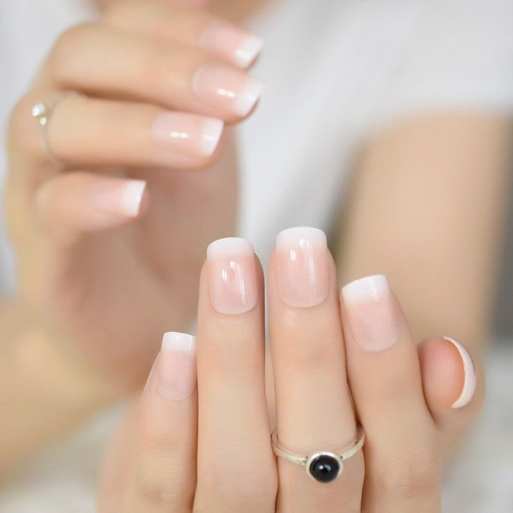 how to shape almond nails from square