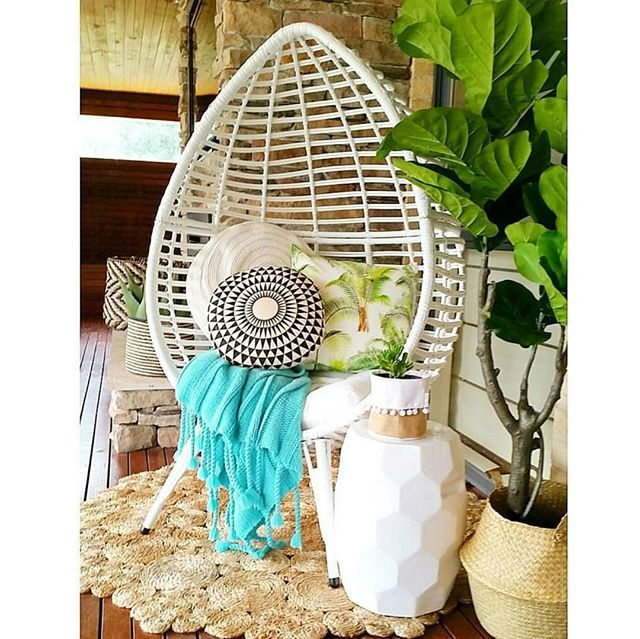 No this is not from @kmartaus latest catalogue, this is @bextas_home_life fab backyard full of Kmart goodies. That teardrop wicker chair looks amazing and is only $229. Thanks for sharing hun #addictedtokmart #kmartaddict #kmartaus #kmart #addictedtobargains #shoppingaddict #outdoor #wicker #chair #styling #homedecor #homestyling