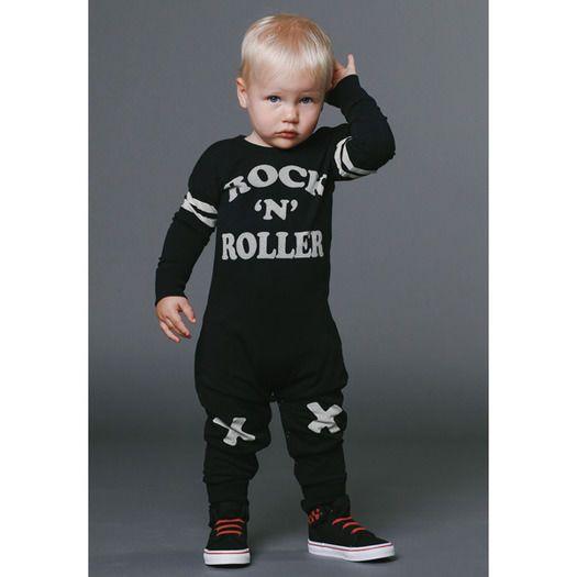 Rock n Roller Playsuit