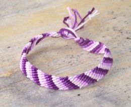 refresher on making friendship bracelets