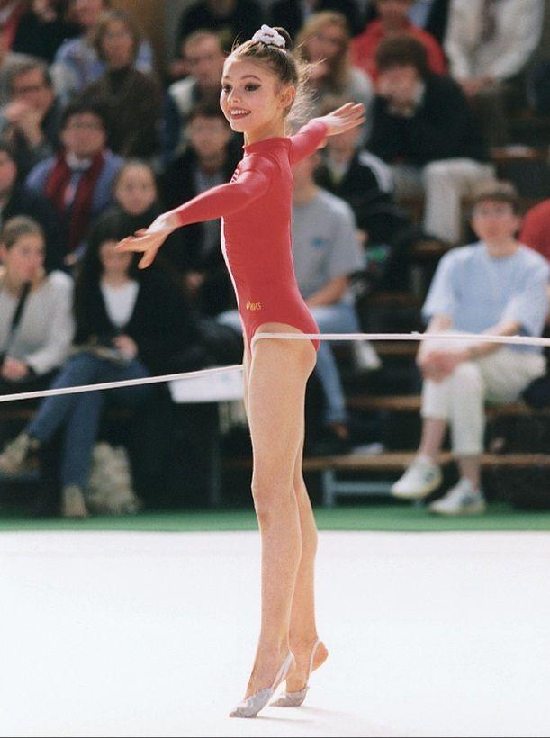 little Alina Kabaeva (Russia)