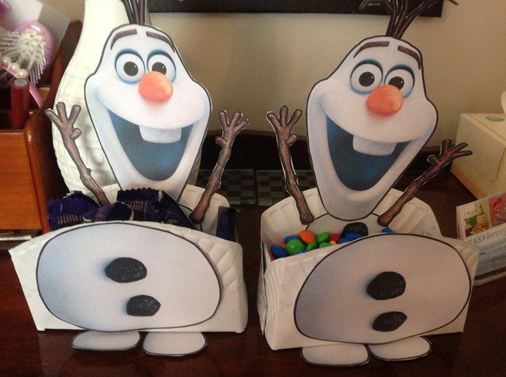 Olaf bowls